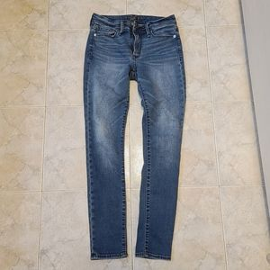Abercrombie and fitch skinny jeans 25
